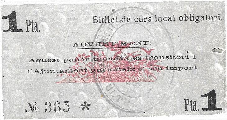 Billetes de la GuerraCivil ULTRAMORT Y PALU DE SACOSTA, falsos? 308k6iv