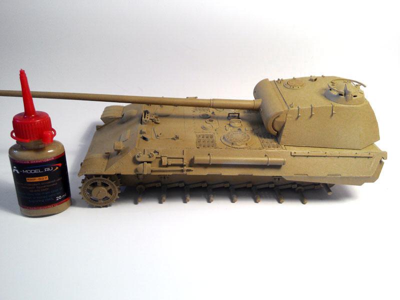 Тестим краску A-model 312v8fr