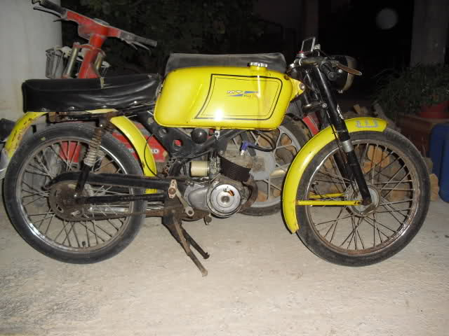Ayuda identificar ciclomotor ¿Ducati? 3144e4k