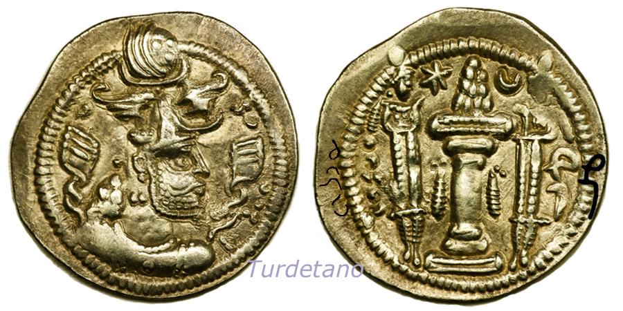 Las coronas de los shas de Persia. 315gbqv