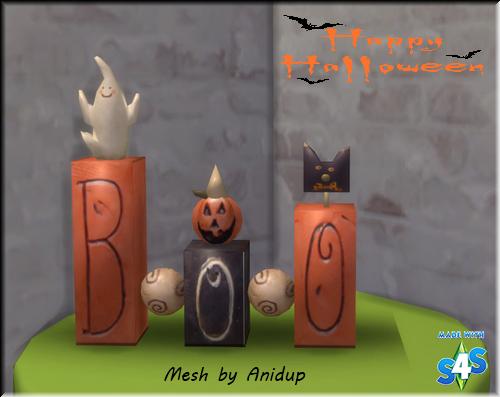 B-O-O Blocks - TS4 33xyazp