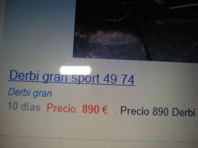 Comprar Derbi Gran Sport 350oy20