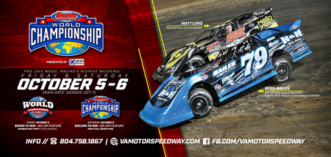 FASTRAK WORLD CHAMPIONSHIP WEEKEND AT VMS; PRO LATE MODEL'S RICHEST WEEKEND 4t66hk