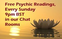 Thursday May 31st - Free Readings All  Evening In Chat 5nvklj