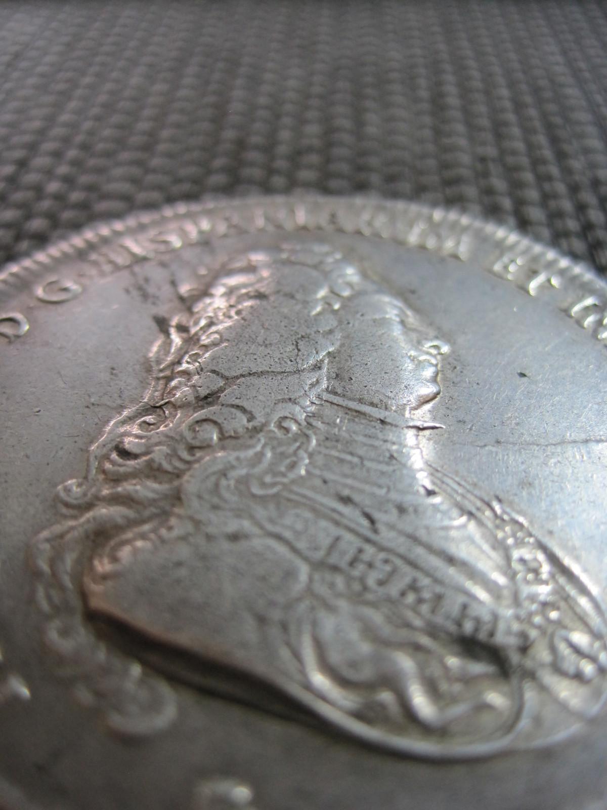 1703 Ducatón Felipe V 5vq6a1