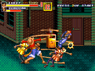 Streets Of Rage 2 - One piece- 5x8o7r