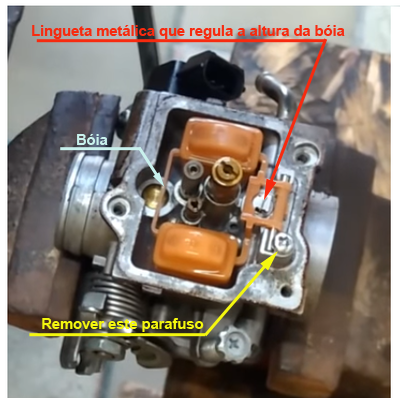 combustivel - Tutorial - Como resolver o vazamento de combustível pelo respiro do carburador na YBR 125 Factor 6fqh3o