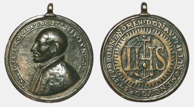 San Ignacio de Loyola / Emblema jesuita 72fxwg