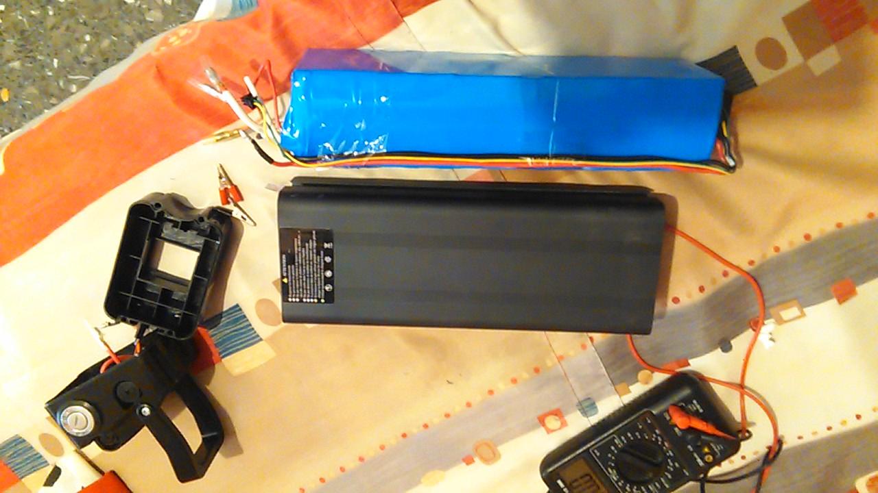 Repara avería batería 36V litio 9ftc3s