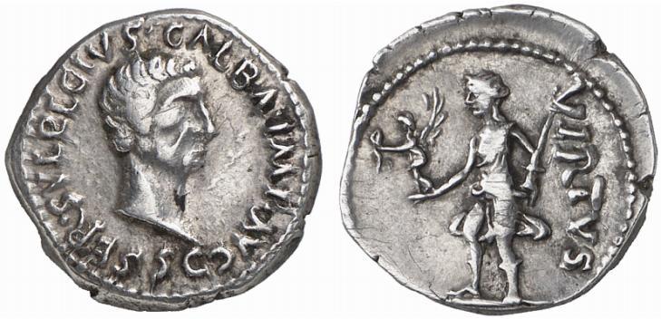 Denier de Galba frappé en Hispania - en apparence inédit.  - Page 2 A3e939