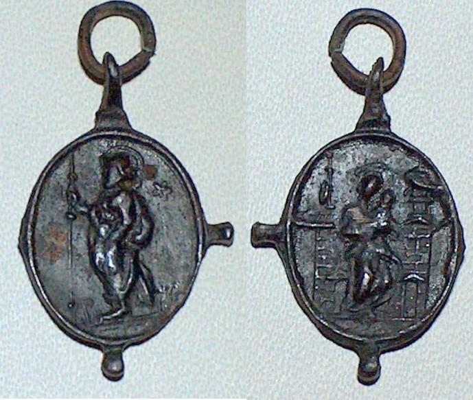 Medalla Santiago el Mayor - Virgen de Loreto (R.M. SXVII-O371) B7jhhh
