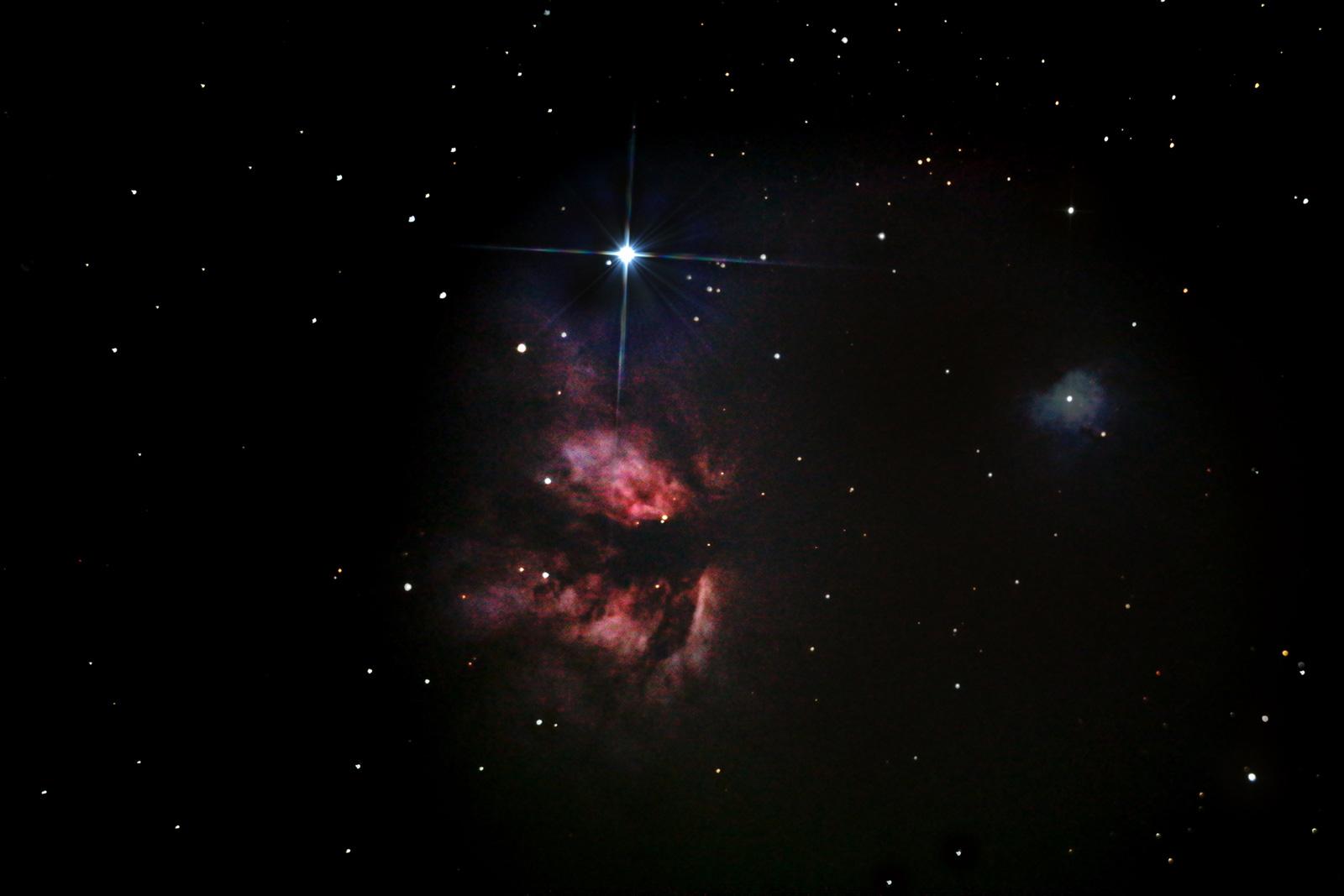 Nebulosas da Constelação de Orion Dm63rc
