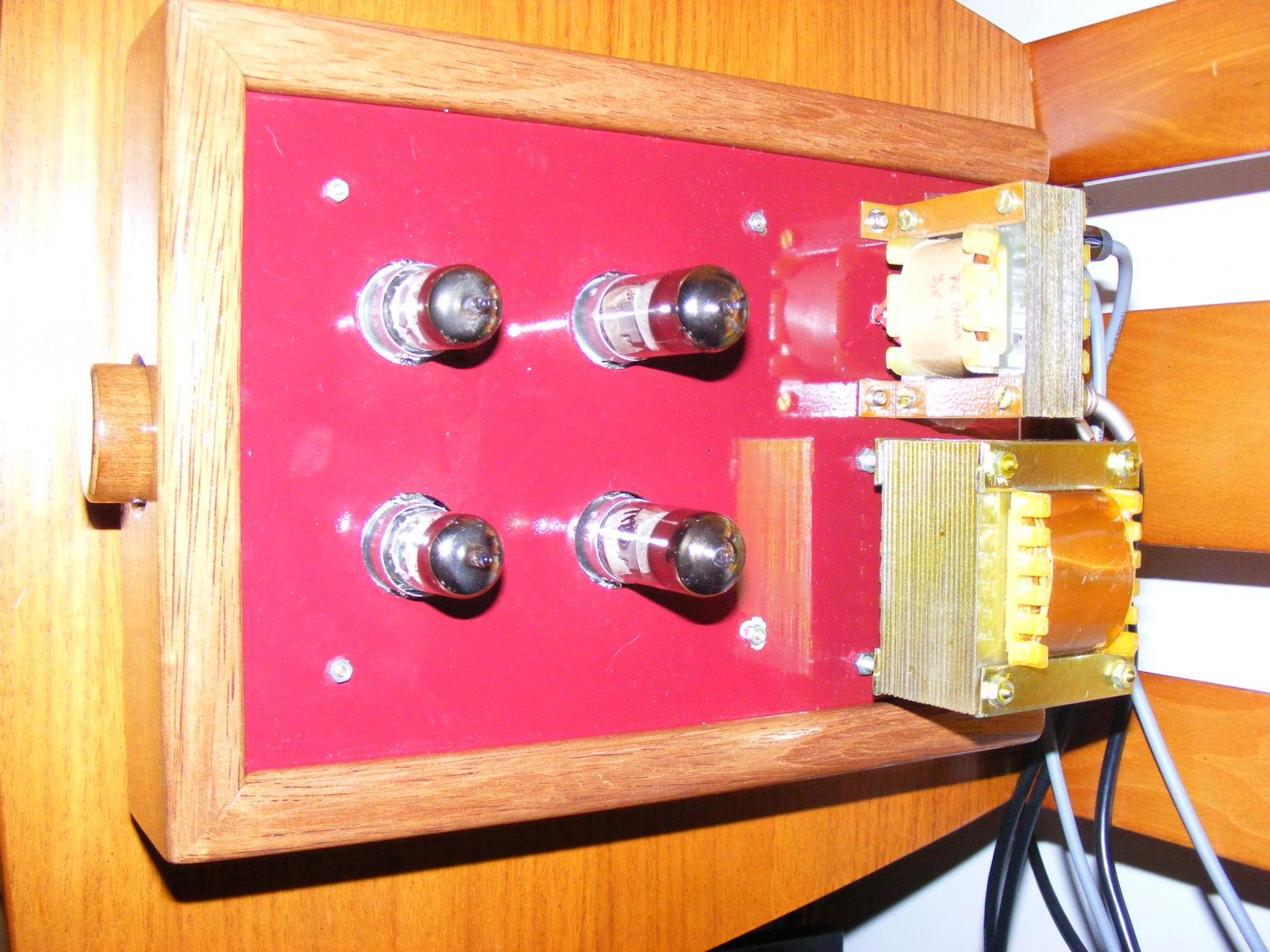 Protótipo Pré Classe A  JP Amplifiers Dnkifb