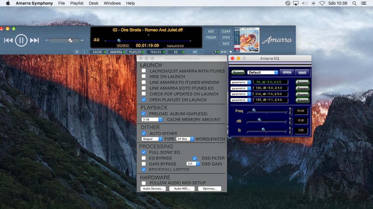 Reproducción de archivos DSD E0himb