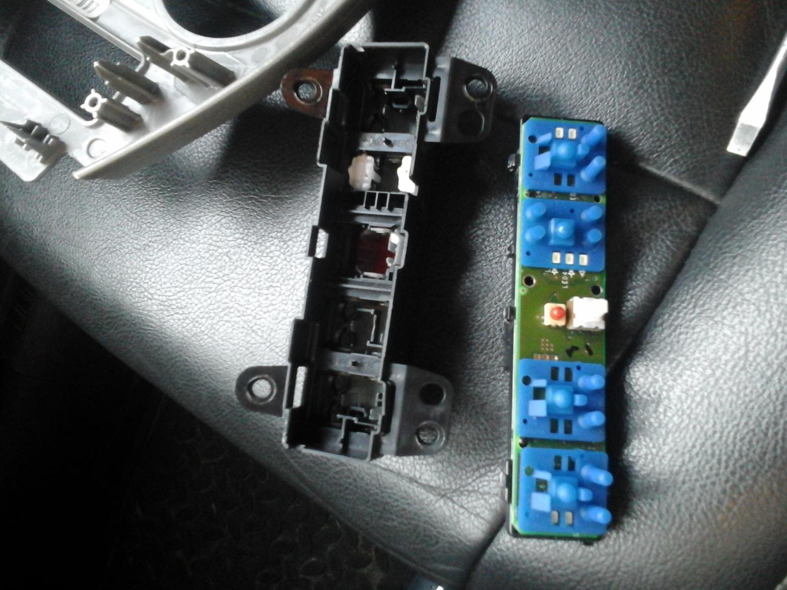 Замена блока кнопок, блока управления кондеем E6ow7r