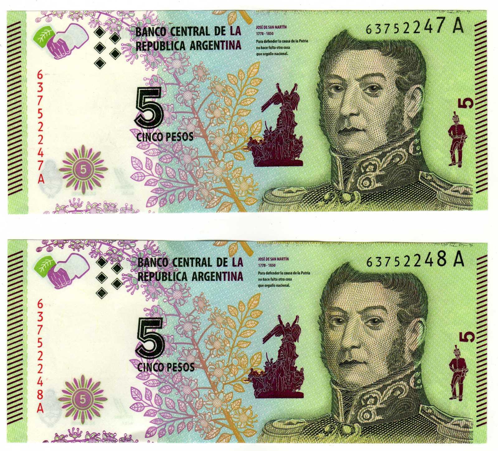 El Billete mas feo que se imprimió en Argentina. F0w955