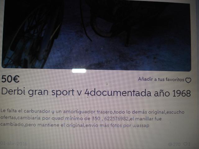 Comprar Derbi Gran Sport Fdaryo