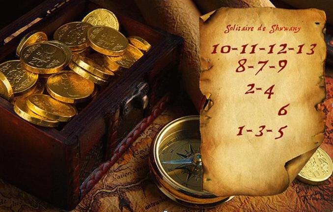 Денежный годовой расклад Таро «Карта сокровищ» ведет Ева Fojejk