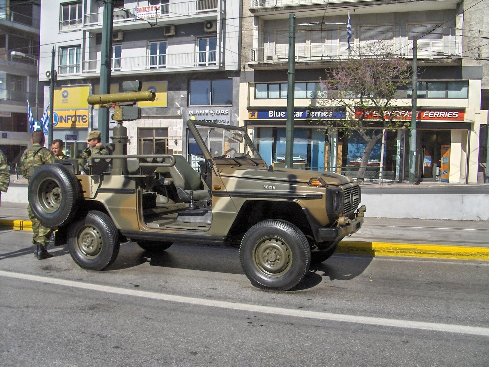 (W462): A Classe G montada em CKD para o exército grego Fz0nzp