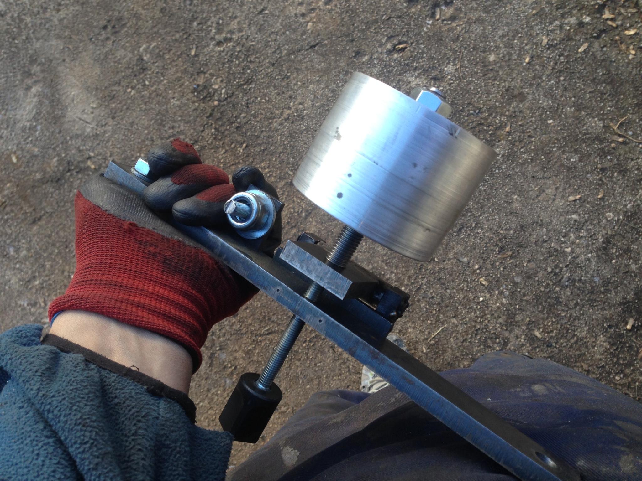 Belt grinder Replika KMG I1mfmc