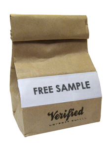 Amostra Verified Coffee - café - Iqg8au