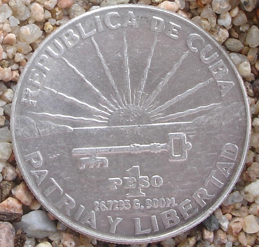 1 Peso (Centenario de José Martí). Cuba. 1953 J5azrn