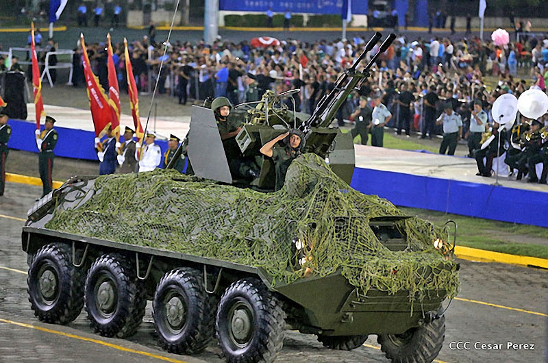 Ejército de Nicaragua Ja9hls