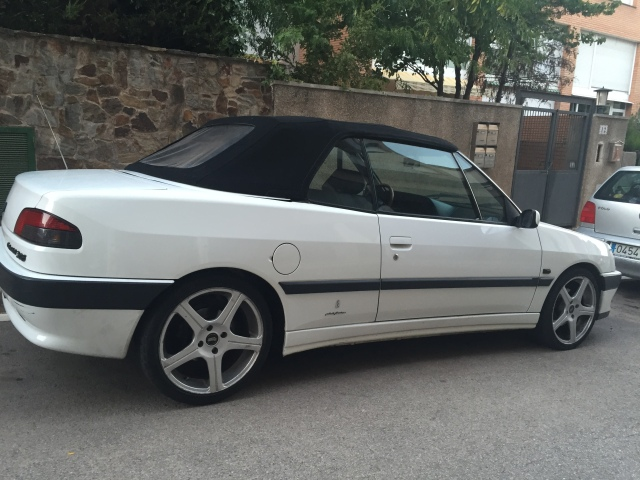 [ SE VENDE ] Peugeot 306 cabrio 1995 2,0i 123cv Blanco (vendido) Kahic3