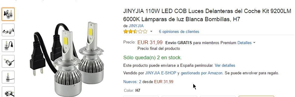 Kit led para luces cortas Mwsj5u