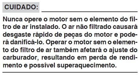 Carburador - Limpeza do Filtro de Ar Lavável - Procedimento para YBR e Factor c/ Carburador N3oga1