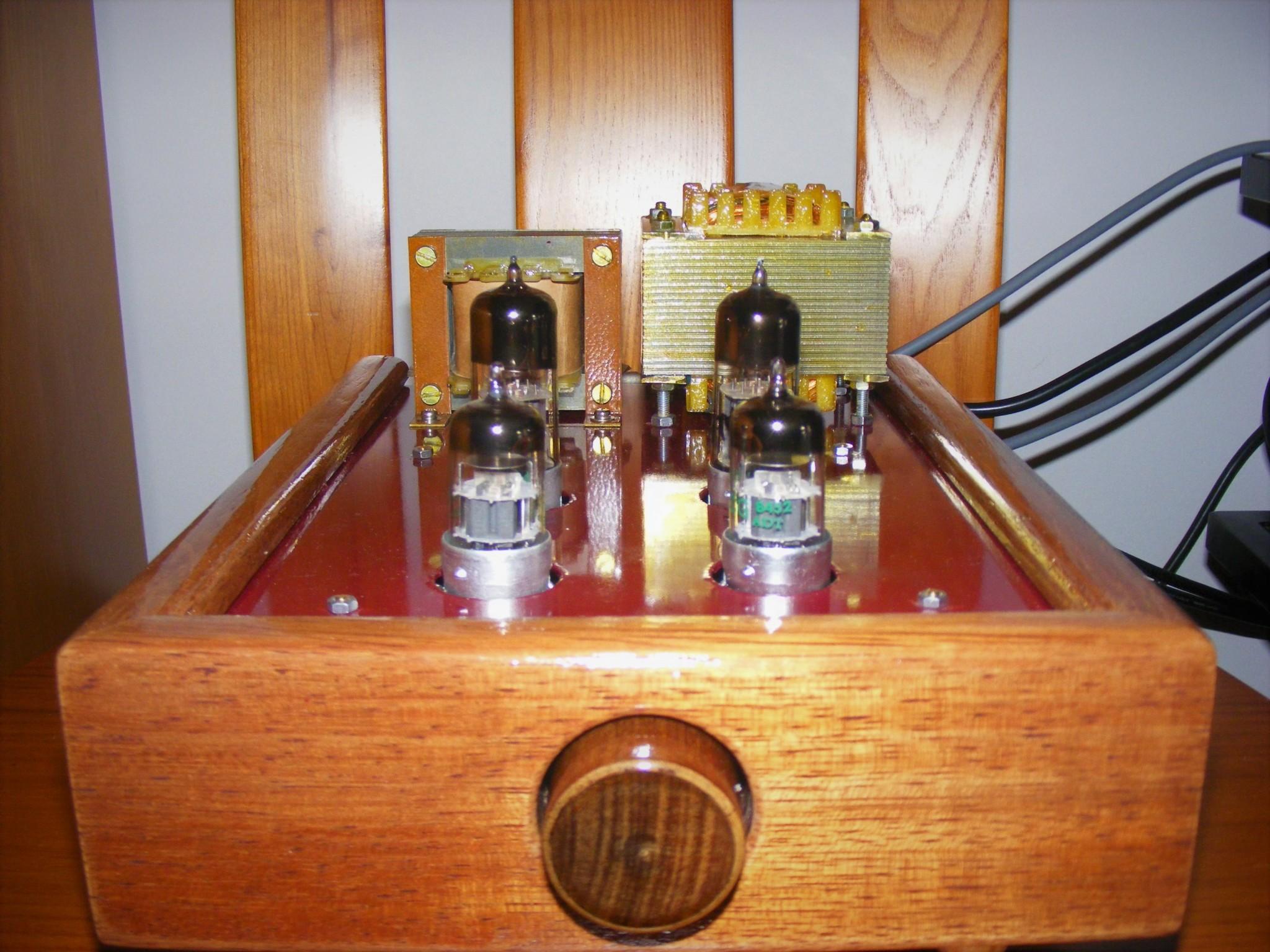 Protótipo Pré Classe A  JP Amplifiers N4w5tu