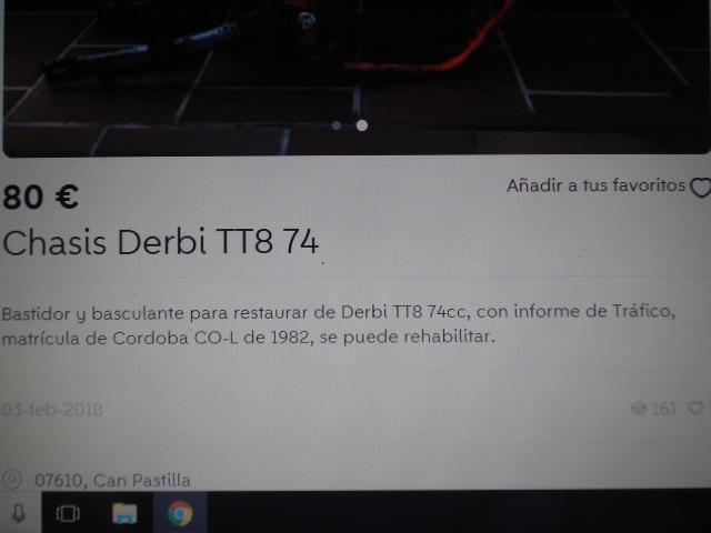 derbi - La Derbi TT8 de Gonzalo Ncjkmr