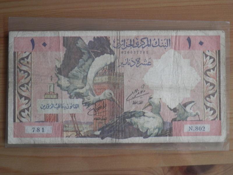 10 Dinars Argelia 1964 O95l