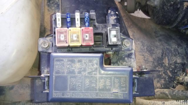 Caixa de fusíveis e relés Rrmkhd
