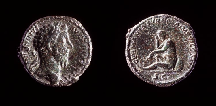 As de Marco Aurelio. GERMANIA SVBACTA IMP VI COS III /S C Rwklr6