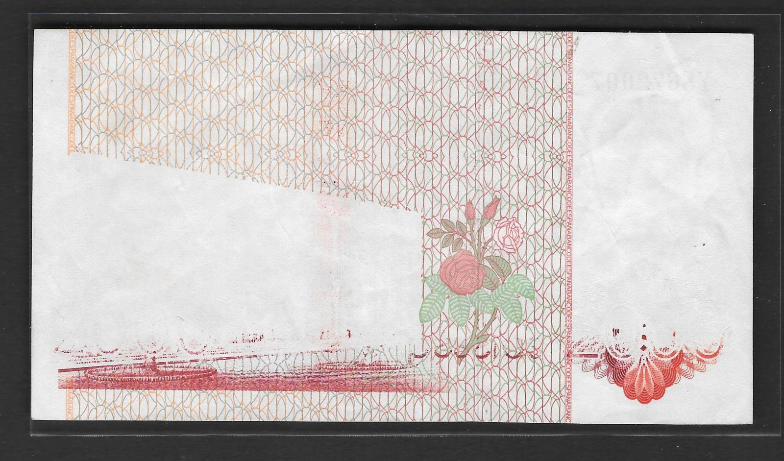 2000 pesetas, 1980, serie Y, con error en reverso. S15ais