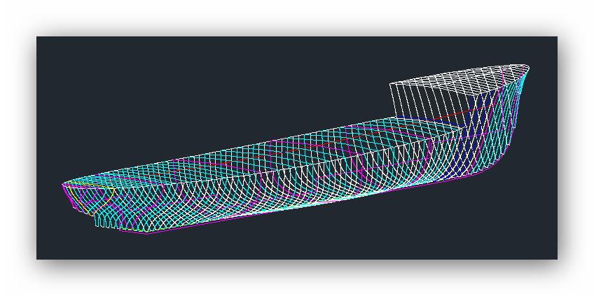 """MB """"Premuda"""" u crtežima CAD programa Svsazb"""