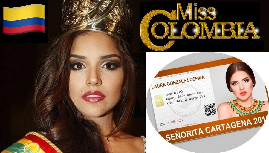 LAURA GONZALEZ OSPINA - Senorita COLOMBIA Universe 2017 -  Symc5w