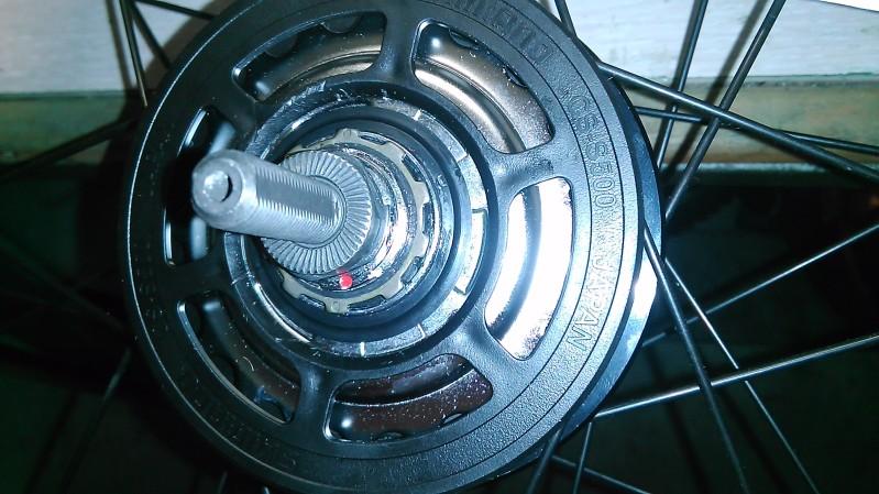 Montaje de un cambio integrado Shimano Alfine 11v. V7f9dd