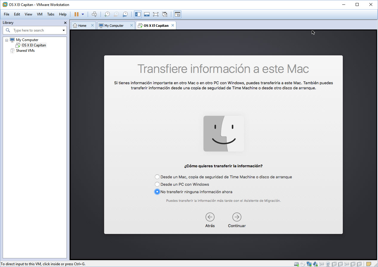 [TUTORIAL] VMWARE: INSTALANDO OS X EL CAPITÁN EN OS X Y WINDOWS... A LA BILBAÍNA W1v2th