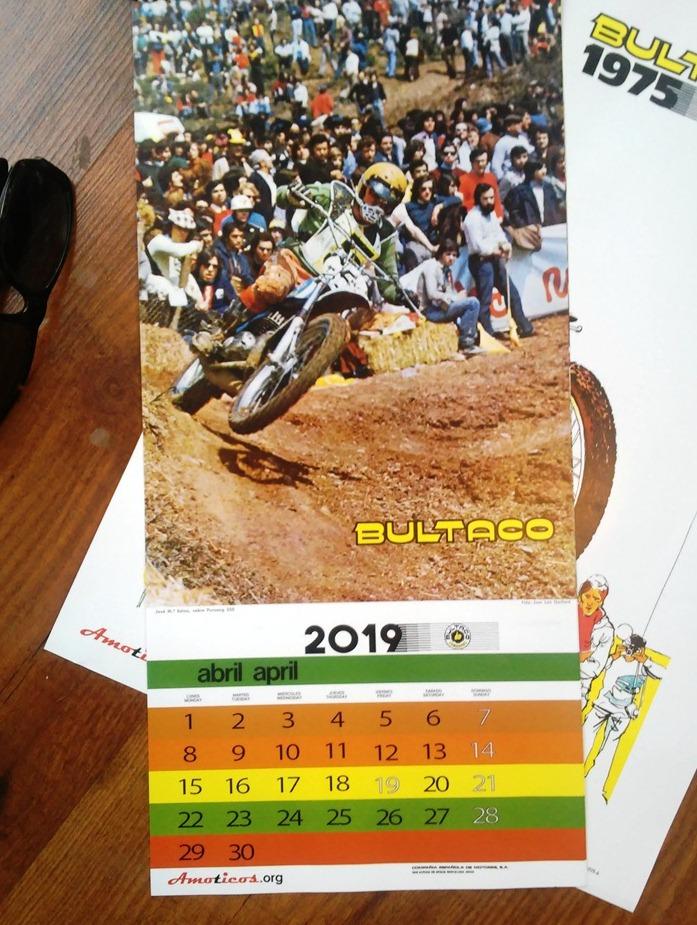 Calendario Amoticos 2019 Wt974g