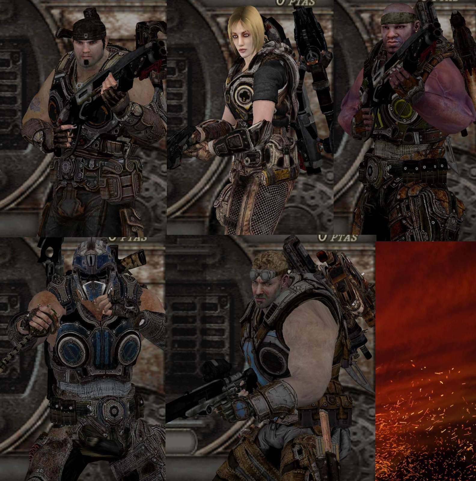 """Gears of Evil"" V.1.0 - Gears of War - MegaPack X43tz6"