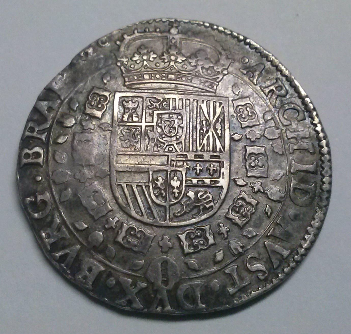 Patagón de 1635 a nombre de Felipe IV (Amberes) Zsonk3