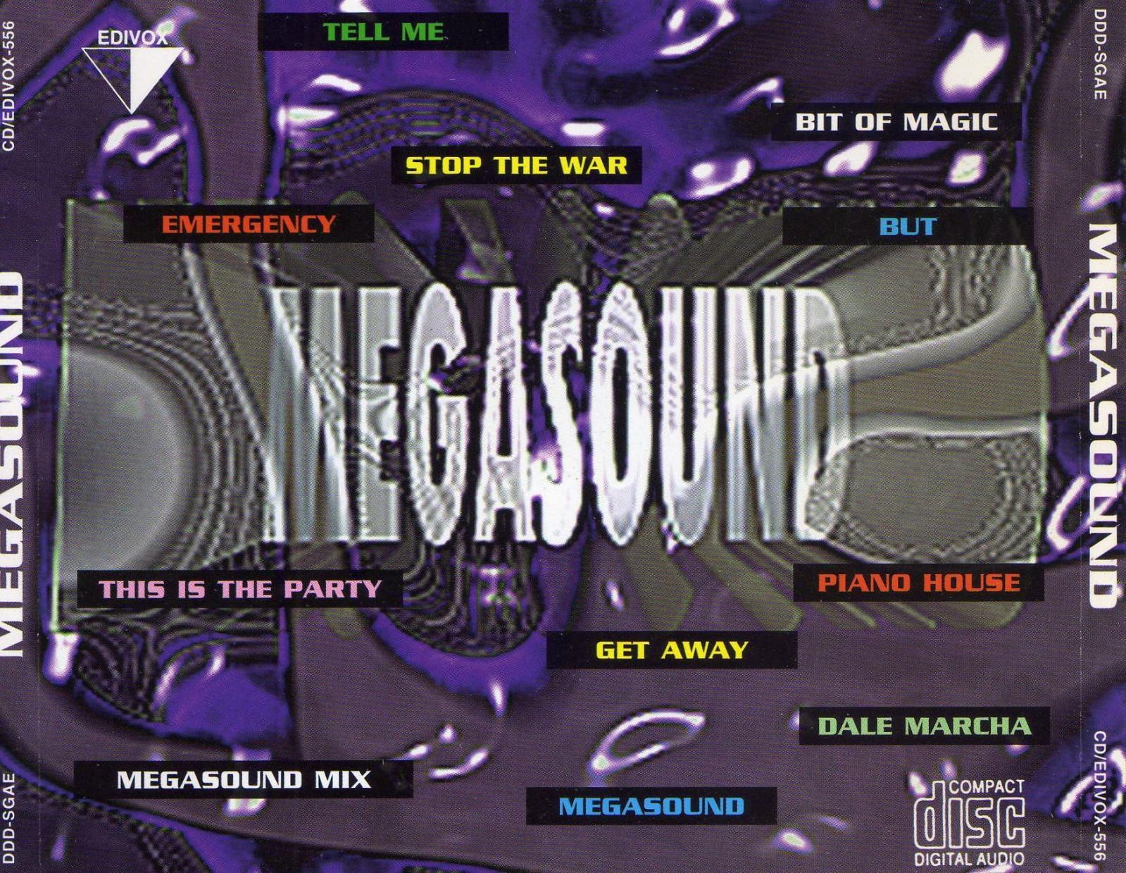 MEGASOUND MIX (1997) EDIVOX 10h0fmq