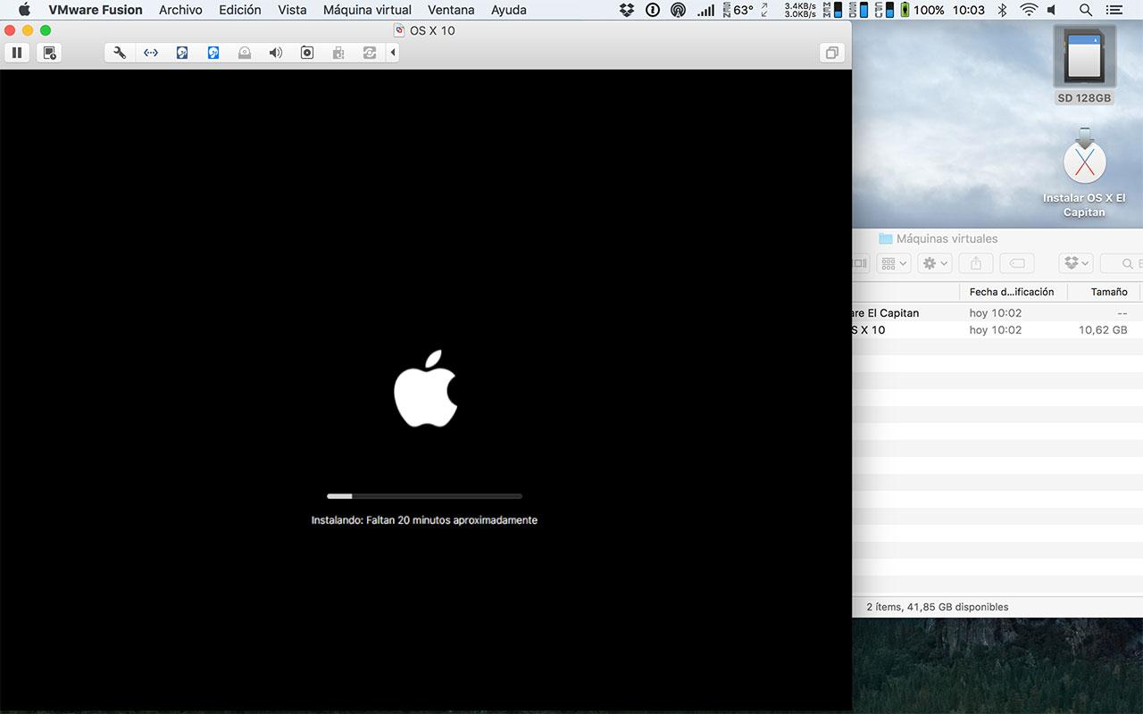 [TUTORIAL] VMWARE: INSTALANDO OS X EL CAPITÁN EN OS X Y WINDOWS... A LA BILBAÍNA 10hvjhs