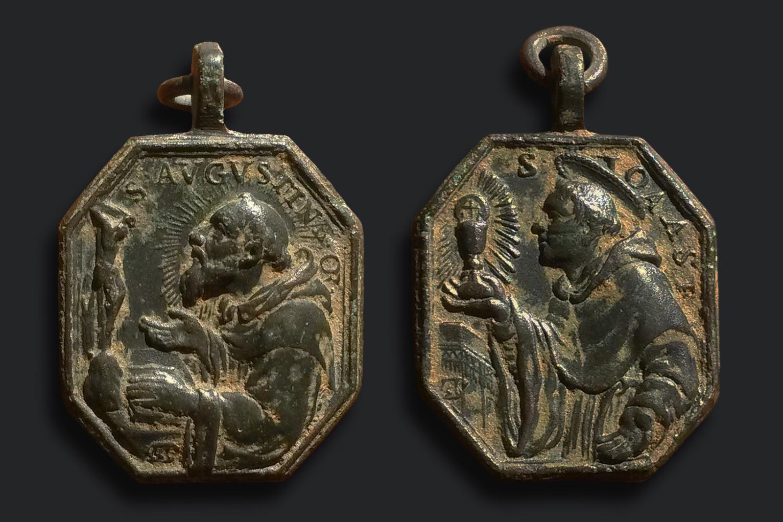 San Agustin de Hipona / San Juan de Sahagún Loba Capitolina Hamerani (SXVIII-P87) 10q056t