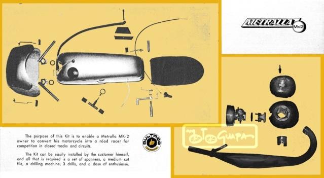 Mi nuevo proyecto: Bultaco Junior kit America 116ta8j