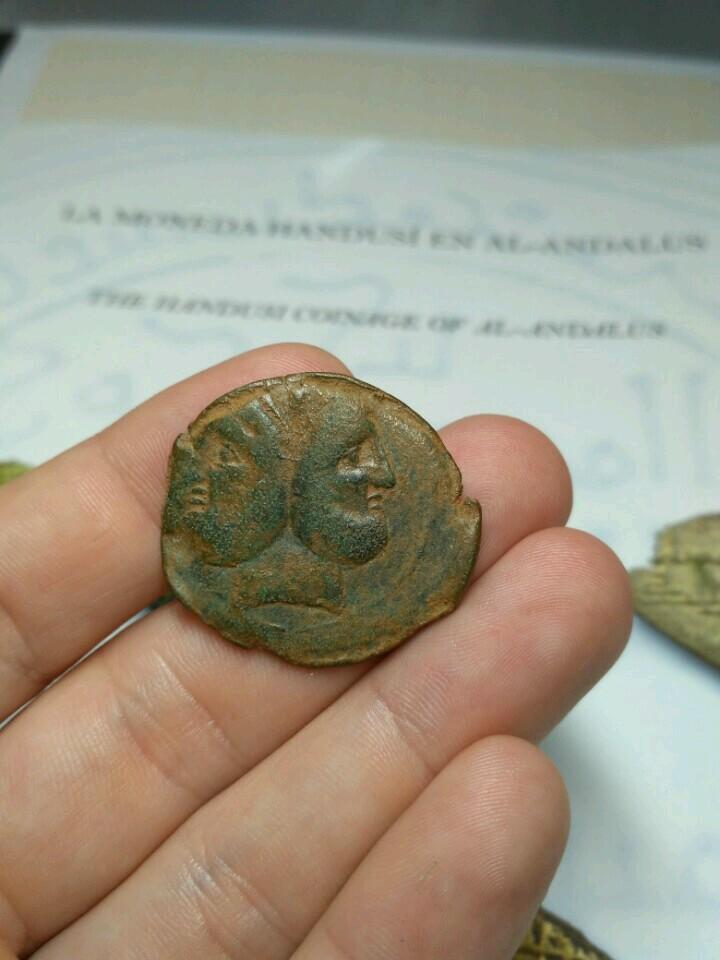 As Republicano Gens Pompeia. CN MAGNVS/ IMP. Jano / proa 119s788