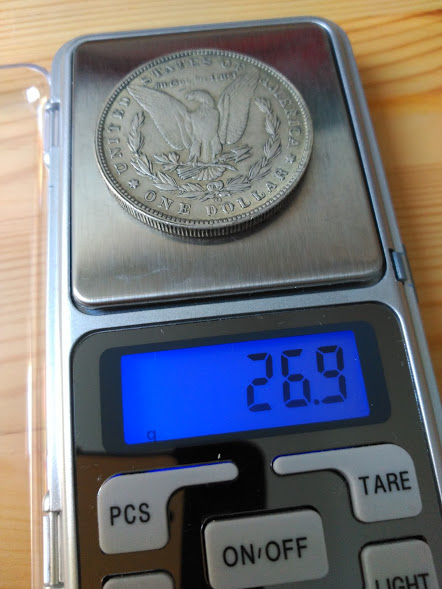 Estados Unidos 1 dólar, morgan 1884 11al3pg