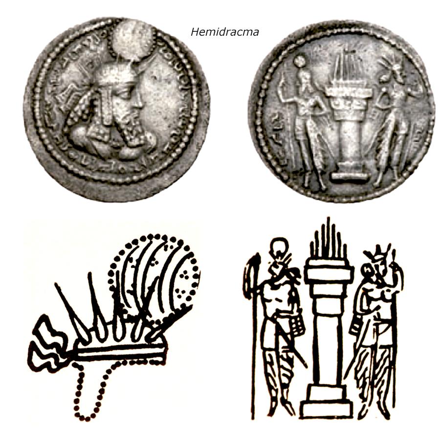 Las coronas de los shas de Persia. 15o8kgp